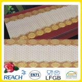 PVC에 의하여 인쇄되는 긴 레이스 상보 금 또는 은