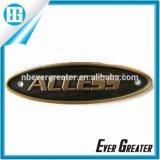 Placa de identificación de encargo de la etiqueta de la etiqueta engomada de la insignia del mejor precio