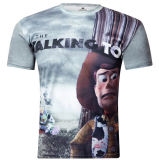 남자를 위한 t-셔츠를 인쇄하는 형식 3D 디지털을 주문을 받아서 만드십시오
