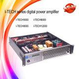 Мощный усилитель звуковой частоты этапа поставкы 2X1200W цифров профессиональный