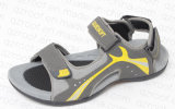 Сандалия PU 2016 вскользь ботинок для людей (RF16144)