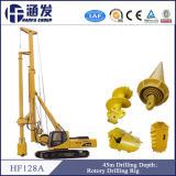 十分のHf128Aの油圧回転式鋭い機械、杭打ち機、抗打ち工事装置