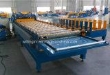 Folha de aço colorida do telhado de telha da etapa que faz a formação da máquina
