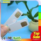 Cartão esperto personalizado do contato SLE4442 da mini microplaqueta do CI para máquinas de Vending