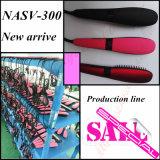 Cepillo original de la enderezadora del pelo de Nasv con la visualización del LCD