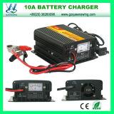 carregador de bateria de 24V 10A para a bateria de armazenamento recarregável (QW-B10A24)