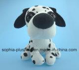 Brinquedo enchido do cão do luxuoso - cão manchado