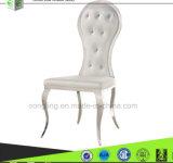 Moderne Esszimmer-Stuhl-Entwürfe des weißen Leder-B8062