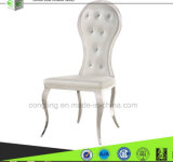 B8062現代白革の食堂の椅子デザイン