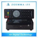 Nouvel OS efficace élevé WiFi Media Player de Linux de boîte coulante de Zgemma I55 IPTV soutenant de pleines chaînes de télévision mondiales
