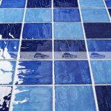 golf van 4 '' x4 '' mengde de Blauwe Tegel van het Mozaïek van het Zwembad van het Porselein (BCP003)