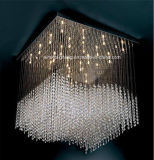 Candelabro de cristal da iluminação da lâmpada do pendente do diodo emissor de luz para decorativo (Em1420)