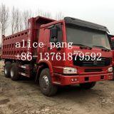 販売(15CBM/30ton)のための使用された上のQualtiy 6X4 Sinotruk HOWOのダンプトラック