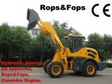 2.0 Ton Multifunctionele Loader (HQ920) met Rops&Fops