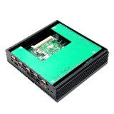 PC дешевого компьютера PC Fanless Compute Китая промышленного тонкий с поддержкой 1080P SSD RAM 64G сердечника N2806 2g Intel Celeron двойной