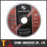 거친 Cutting Wheels, Ultra Thin Cutting Disc 125X1.0X22.2