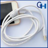2016 1.5m Engineering Data Cable Support 5V-2A Sortie de charge rapide pour iPhone et Galaxy