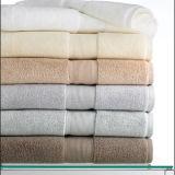 Напечатанное хлопком 100% цветастое полотенце руки нашивки (DPF2534)