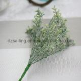 플라스틱은 떠난다 결혼식 또는 홈 또는 정원 훈장 (SF16293A)를 위한 Aritificial 꽃을