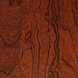 El olmo dirigió el suelo de madera realzado