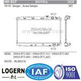 Radiateur en aluminium brasé par Ho-017 pour Honda Integra/Acura Integra'94-01 Mt Dpi : 2028