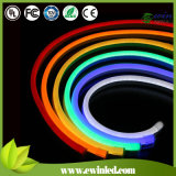 PVC Neon Flexible LED Lights 240V di IP65 Milky
