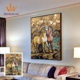 Het Schilderen van het paard Tegel van het Mozaïek van het Beeld van het Mozaïek van de Kunst de Met de hand gemaakte
