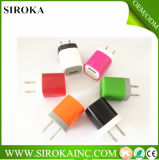 Lage Price Fashionable Portable Travel Charger USB Wall Charger AC5V 1000mA Output voor iPad