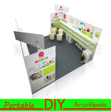 стойка торговой выставки метров 6X9 портативная разносторонняя для продуктов младенца с стеной полки индикации