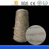 민감한 Feelly 기털 털실 뜨개질을 하는 패턴 폴리에스테 털실