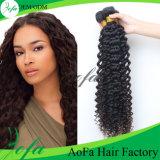 Prolonge brésilienne profonde de cheveux humains de Vierge d'armure de cheveux humains de l'onde 6A/7A/8A Remy