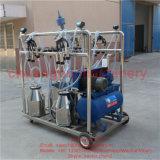 Machine de traite mobile de 4 positions pour la ferme de chèvre de moutons de vache