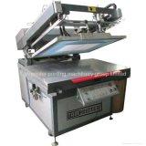 Автоматическая вкосую печатная машина шелковой ширмы вакуума Flate рукоятки Tmp-6090