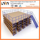 重負荷の鉄骨構造の中二階床のプラットホーム
