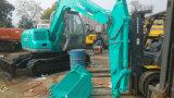 Mini excavatrice de Libre-Révolution hydraulique utilisée de chenille de Kobelco Sk60 de la Vert-Couche 0.1~0.5cbm/6000kg