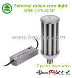 Driver esterno LED Corn Light 120lm/W IP64 5 Years Warranty