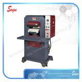 Máquina de gravação de couro hidráulica