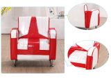 Un sofà delle 1+2 case impostato/mobilia di cuoio capretti del PVC