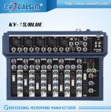 Mélangeur 7-Channel professionnel avec la MIC-Ligne série de mélange sonore d'entrée d'USB de console