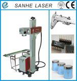 Máquina caliente de la marca del laser de la fibra del vuelo 2017 con la alta precisión