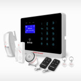 Alarm Residencial, Smart Intelligent Auto Dial Wireless Home Alarm avec écran LCD tactile