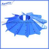 Shape diferente PP Plastic Impeller em Paddlewheel Aerator
