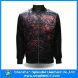 고품질은 인쇄한 남자 폭격기 겨울에 의하여 누비질된 재킷을 주문 설계한다