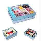 布/おもちゃ/化粧品/台所パッキングカスタム印刷の工場Foldableペーパーギフト用の箱