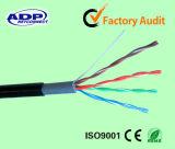 Alta calidad cables de LAN de 4 pares Cat5e UTP