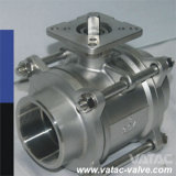 1000wog y 2000wog Screwed/Threaded NPT/Bsp Ball Valve From Ss304 o Ss316