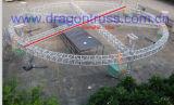 Ферменная конструкция ферменной конструкции Spigot Roung выставки алюминиевая круглая для Perforance