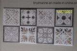 Бело/серо/черноты/красно/пинки/Brown/кофеие/желто цветы/бежево/золотисто мраморный плитки для стены