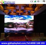 Muestra de interior del color TV LED del monitor de P5.95 Digitaces