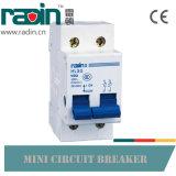 Высокий ломая миниатюрный автомат защити цепи MCB 1p 2p 3p 4p